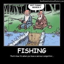 Ice Fishing Meme - fishing competitors demotivational poster