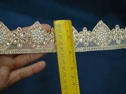 yard indian laces decorative ribbon trim metallic ribbon