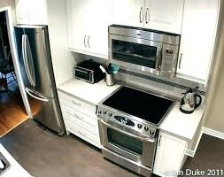 how to install over the range microwave without a cabinet lovely over stove microwave oven the range microwaves with