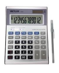 victor calculator 6500 12 digit executive desktop financial