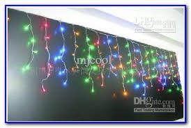 Multi Color Icicle Lights Christmas Tree Decorating Ideas Multi Colored Lights Painting