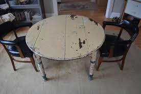 round farm table primitive antique with original paint for sale at