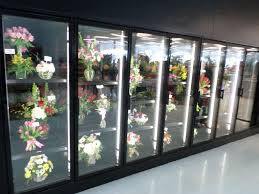 floral shops floral display cooler lighting flower shops led cooler door lights