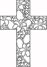 free printable cross coloring pages free printable free
