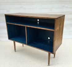 mid century modern record cabinet mid century modern tv stand