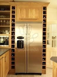 wine rack built in wine rack above refrigerator ikea kitchen
