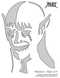 amulet pumpkin stencil prince trellis by jeremyputnam on deviantart