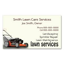 Mowing Business Cards Lawn Care Landscaping Services Business Card Lawn Care Business
