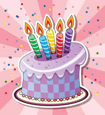 birthday cakes and balloons vectors urodziny pinterest