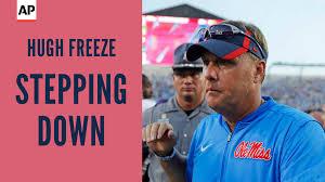 mississippi football coach hugh freeze resigns assistant matt
