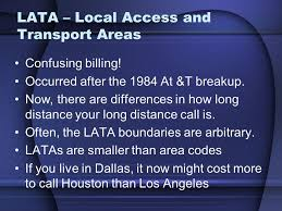 houston lata map telephone network hierarchy analog sounds ppt