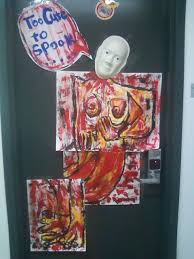 ludlow live wire halloween door decoration contest