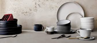 Modern Kitchen Plate Set Tableware And Modern Dining Sets Cb2