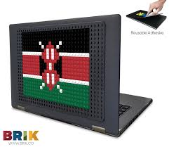Flag Of Kenya Flag Of Kenya Pixel Art U2013 Brik
