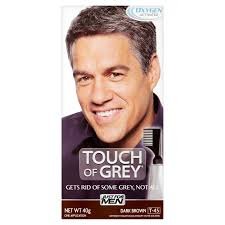 Gray Hair Mens Hairstyles by Just For Men Touch Of Grey Hair Colour Dye