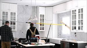 stone kitchen backsplash prima stone kitchen backsplash installation youtube