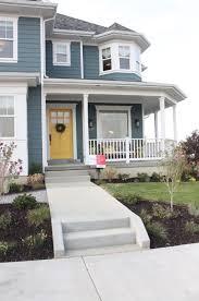 exterior of homes designs yellow doors yellow front doors and