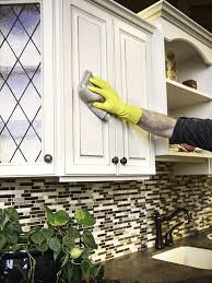 can i use vinegar to clean kitchen cabinets how to clean your kitchen cabinets kitchen cabinets