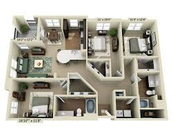 floor plans and pricing for the residences at bella terra three bedroom c2d