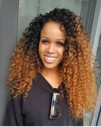 Curly Hair Braid Extensions by No Leave Out Crochet Braids By Crownedbyd Curly Hair