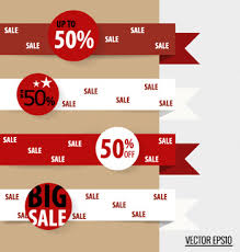 ribbon on sale vector sale ribbon tag free vector 6 994 free vector for