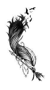 tatto ideas 2017 feather flock arrow tattoo design fashionviral