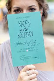 Fan Programs For Weddings Creative Wedding Programs And What To Include Mywedding