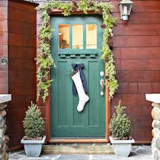 backyards creative front door christmas decorations contest for