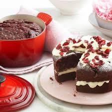 red velvet chocolate cake le creuset recipes