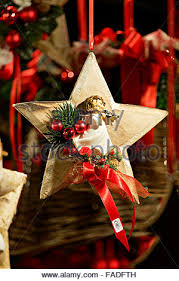 christmas decorations at the christmas market salzburg austria