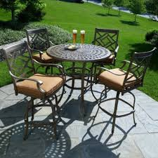 Patio Chairs Bar Height High Dining Patio Set