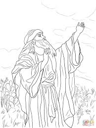 prophet isaiah coloring page free printable coloring pages
