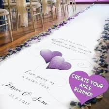Isle Runner Wedding Aisle Runners U2013 Black Sheep Design