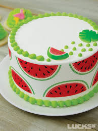 Watermelon Cake Decorating Ideas Watermelon Summer Cake Summertime Cakes U0026 Cupcakes Pinterest