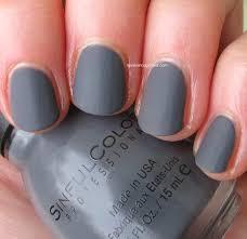 matte gray nail polish cute nails for women