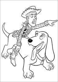 cartoon coloring pages printable toy story woody cartoon