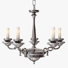 3d remains lighting silverplate chandelier cgtrader