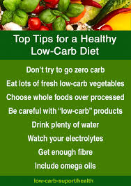 8 tips for a healthy low carb diet u2013 low carb support