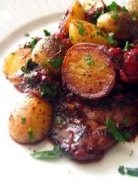 cuisiner le foie de veau dans la cuisine de foie de veau aux framboises et pommes