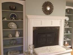 built in bookshelves around fireplace home pinterest built