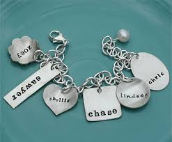 Stamped Jewelry The Vintage Pearl Hand Stamped Jewelry A Batty Life