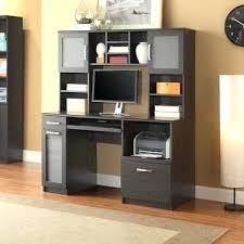 Desk With Hutch Black Black Desk With Hutch Bethebridge Co