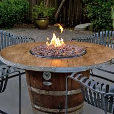 Diy Firepit Table Reserve Wine Barrel Pit Table Pit Table Barrels And Wine