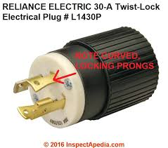 wire electrical plug curved locking prong electrical plug rated