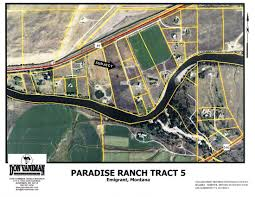Paradise Massachusetts Map by Paradise Ranch Tract 5