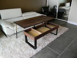 flip up coffee table custom made lift up coffee table that lifts ikea within tables