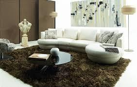 canapé d angle arrondi canapé arrondi en cuir italien design et pas cher modèle