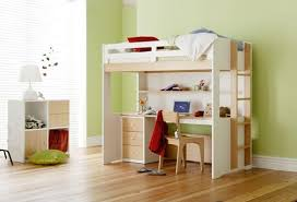 Home Decorating Pictures  Single Loft Bed With Desk - Snooze bunk beds