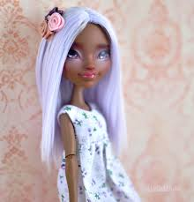Ever After High Dolls Where To Buy Periwinkle Ooak Ever After High Doll U2013 U N N I E D O L L S