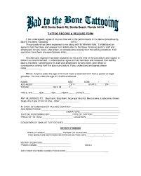 tattoo liabilty waiver form florida edit fill sign online